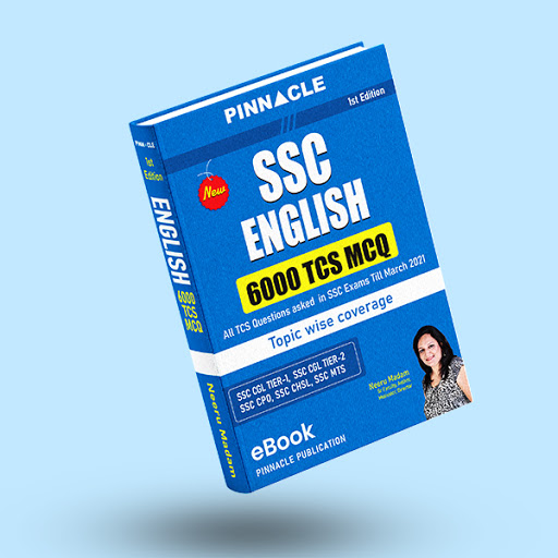 SSC English 6000 TCS MCQs Topic wise coverage ebook