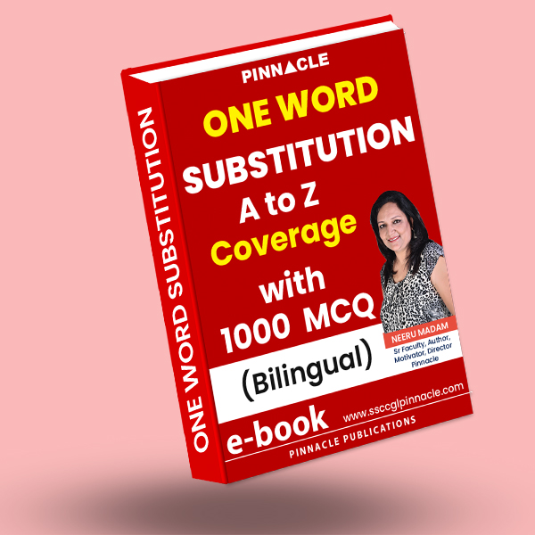 One word substitution ebook