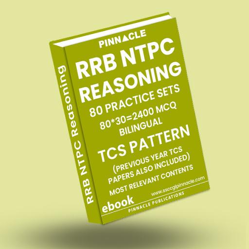 RRB NTPC Reasoning 80 Practice Sets ebook