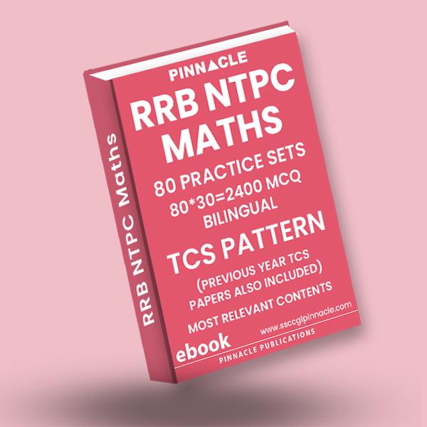 RRB NTPC Maths 80 Practice Sets ebook